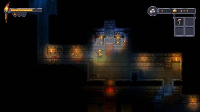 Courier of the Crypts game screenshot