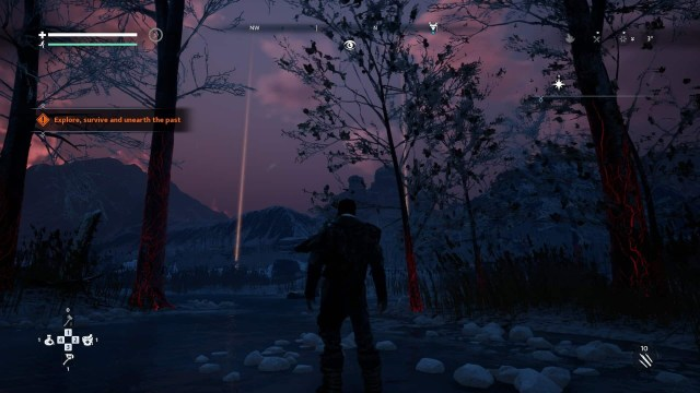 Fade to Silence game screenshot, dark forest