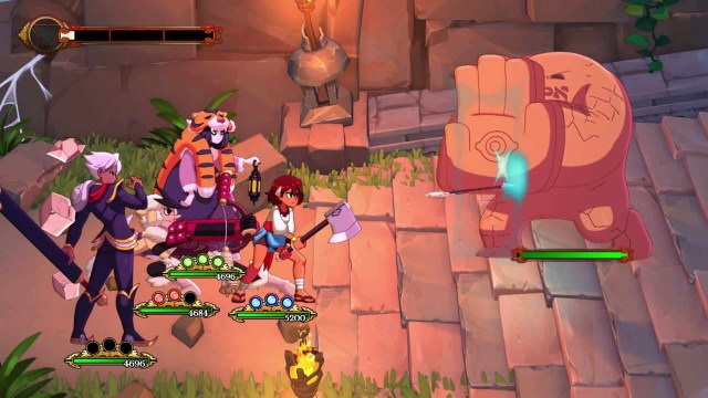 Indivisible Battle 1