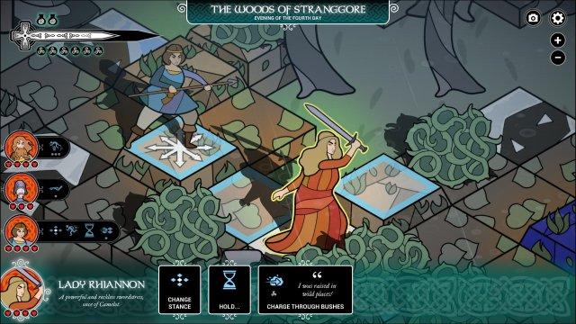 Pendragon game screenshot, wilderness