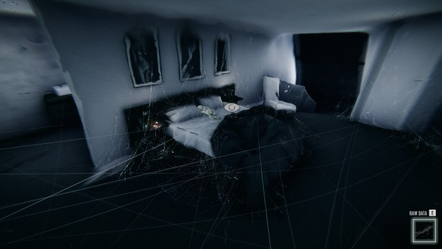 """The Signifier game screenshot, """"exploring memories"""""""