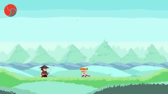 Ato game screenshot, fight scene