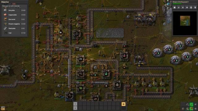 Factorio game screenshot