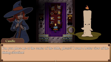 The Button Witch game screenshot, Candle