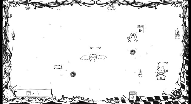 Catty and Batty: The Spirit Guide game screenshot