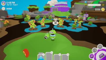 Gooberries game screenshot, Garden