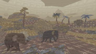 Shelter 3 game screenshot, Desert Hills