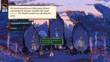 Curious Expedition 2 game screenshot, Mirrors