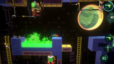 CreatorCrate game screenshot, Acid Pit