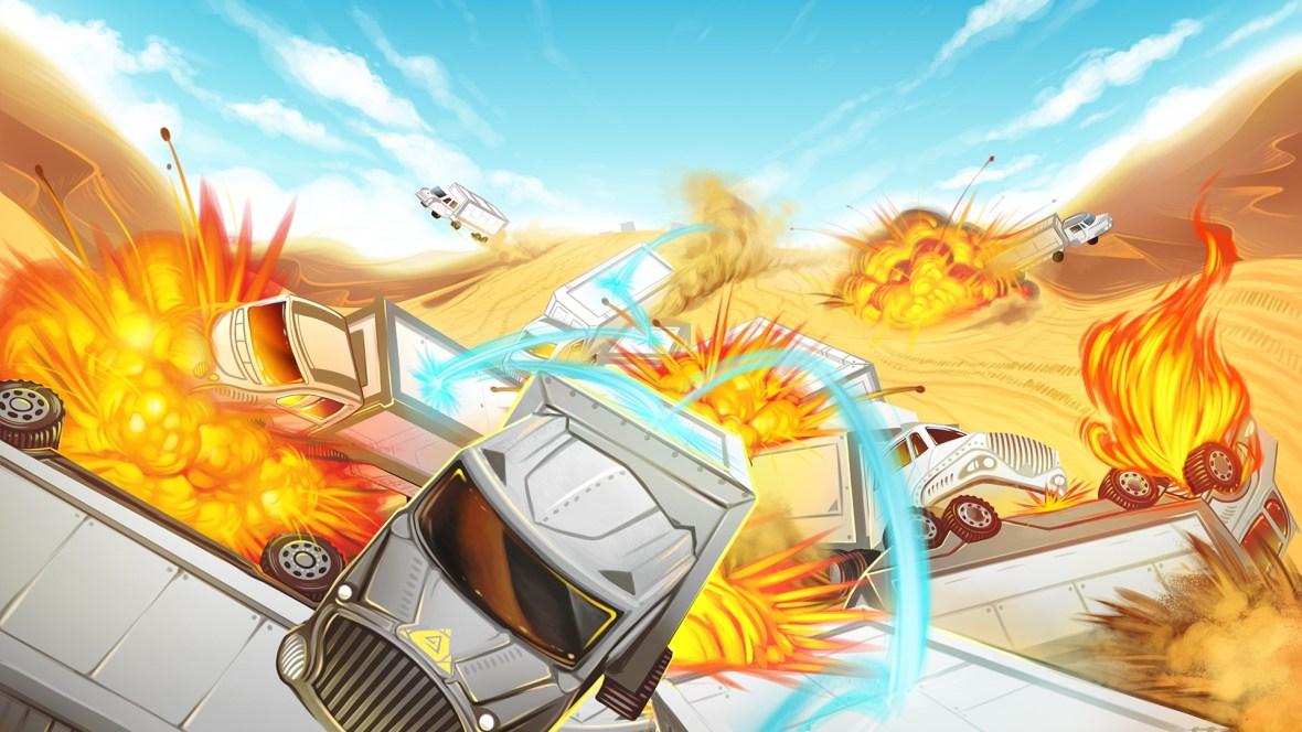 Clustertruck – Ein klassisches Indie Game