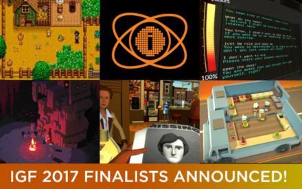 Die Finalisten des Independent Games Festival 2017