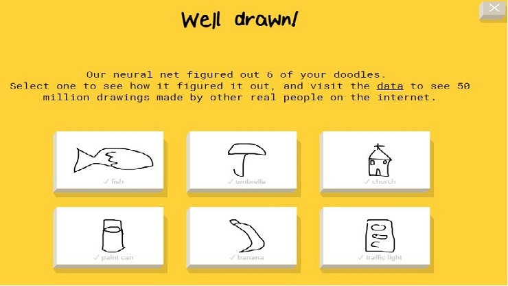 'Quick Draw' Teaches an AI to Recognize Your Drawings ...