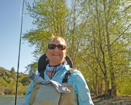 Spring 2013 Ann on Yakima River