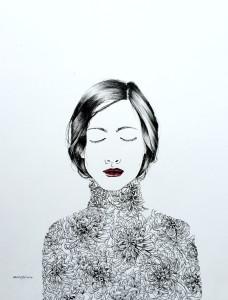 """Mum's the Word"" by Artist Rachel Chansler"