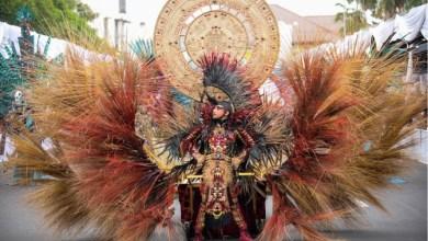 Gambar 2. Salah satu kostum Jember Fashion Carnival 2019 Sumber : Rismieart, 2019