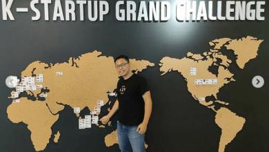 Startup IZY dalam program K-Startup Grand Challenge 2020 (Foto via Instagram @izyindonesia)