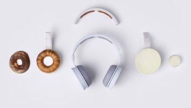 Biodegradable Headphone dengan memanfaatkan jamur (Foto via www.korvaa.com)