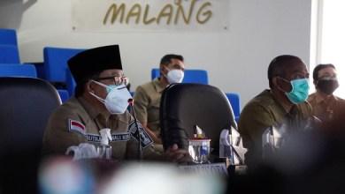 Wali Kota Malang Drs. H. Sutiaji saat memberikan sambutan pada acara Pemkot Malang Awarding Day 2020 (Foto via malangkota.go.id)