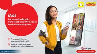 Snapchat dan Indosat Ooredoo Jalin Kerjasama Teknologi