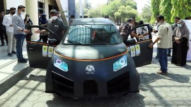 Mengintip Glueh 1.0, Mobil Listrik Karya Mahasiswa Aceh