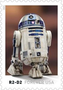 Prangko Star Wars Resmi Dirilis US Postal Service
