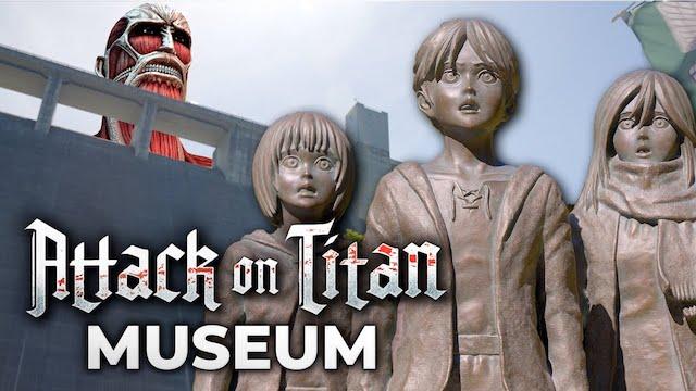 Museum Attack on Titan jadi destinanasi wisata baru di Jepang (Gambar via JapanPro)