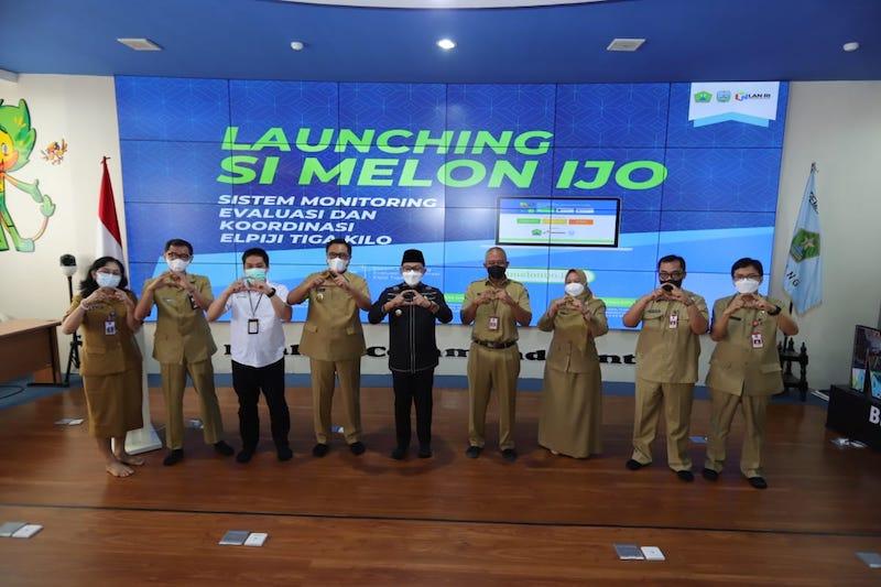 Si Melon Ijo Resmi Diluncurkan di Malang