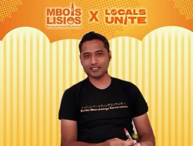 Faizal Alfa menyampaikan bahwa potensi bisnis kuliner khas lokal Malang bisa dikembangkan dengan lebih baik