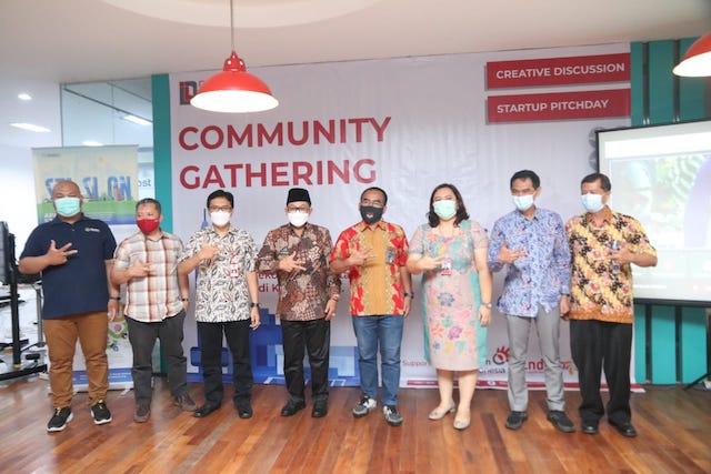 Acara Ramah Tamah STASION 2021 dihadiri oleh Walikota Malang Drs. H. Sutiaji serta pelaku ekonomi kreatif di Malang