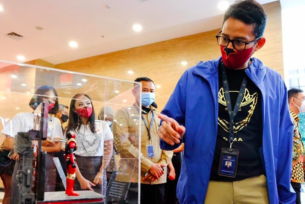 Action Figure BIMA-S: Boneka Aksi Karya Anak Bangsa