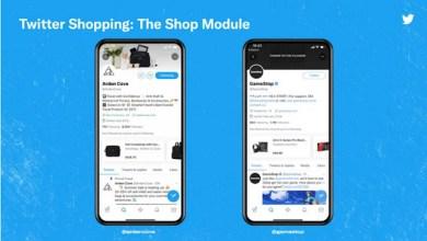 Fitur Shop Module di Twitter (Image: Twitter via theverge.com)