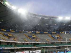 Napoli Fans After Flares