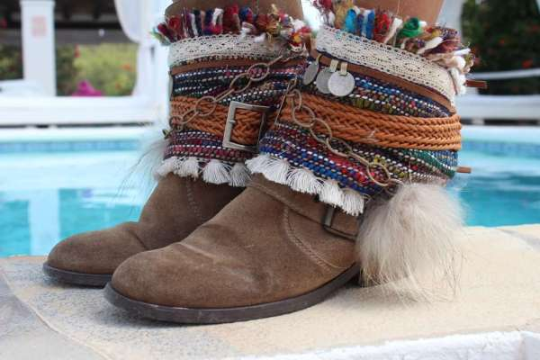 boho coverboots