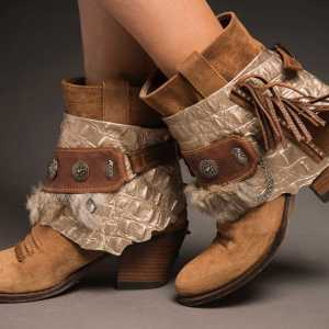 CUBREBOTAS BOHO COCRODILE coverboots