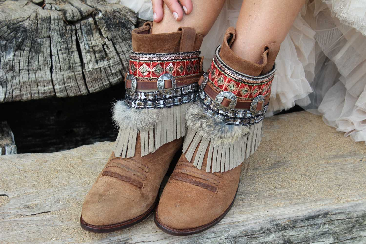 Coverboots cover boots boho style indie maison