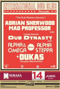 """Flyer: """"The Dub Mosters Session"""""""