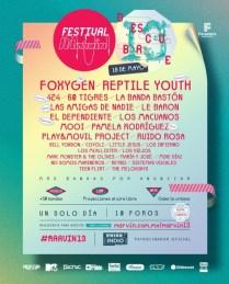 Flyer: Festival Marvin 2013 en la Roma-Condesa