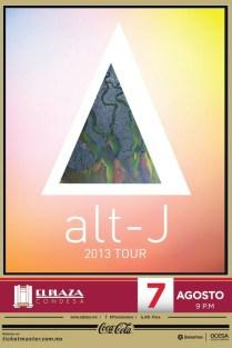 Flyer: Alt -J en El Plaza Condesa