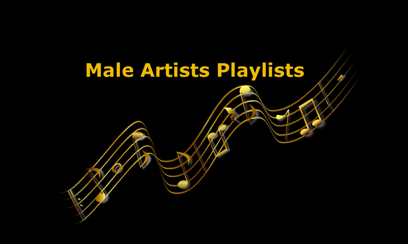 Male Artists Playlists