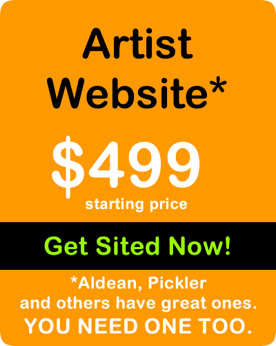 Artist Website - Aldean, Pickler and others have great ones. YOU NEED ONE TOO.