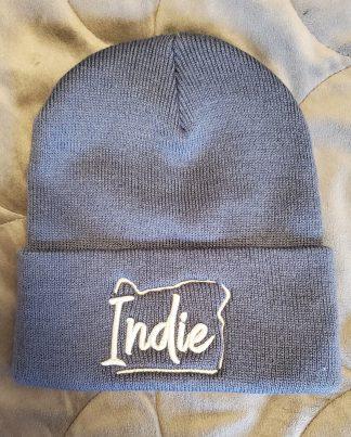 Indie Oregon Beanie - Dusty Blue