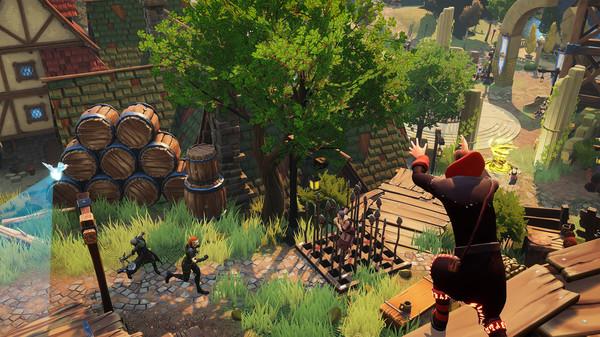Eville ein Indie Game von Vest Games und erhielt 2020 die Games-Förderung
