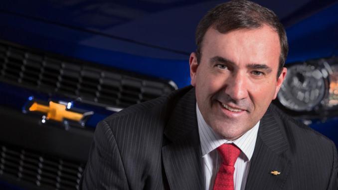 Alan Natey, presidente de GM