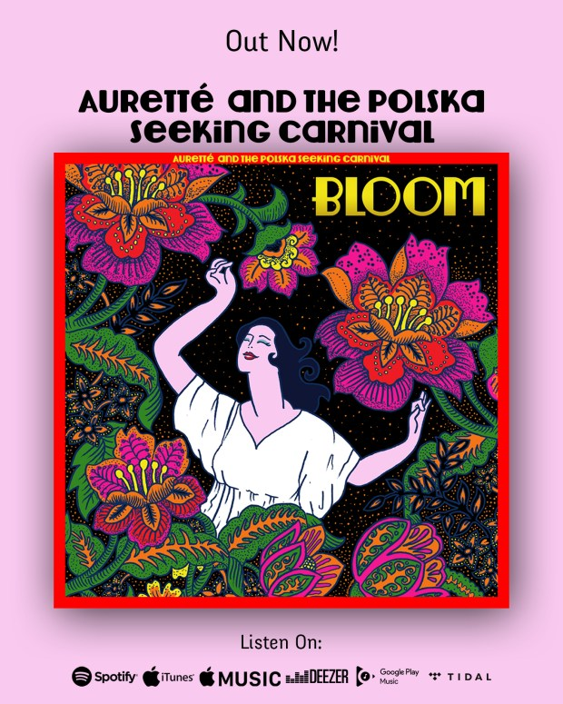 auretté and the polska seeking carnival - out now bloom