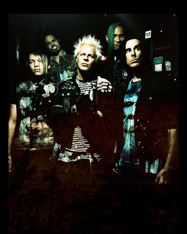 Powerman 5000 photo for Black Lipstick