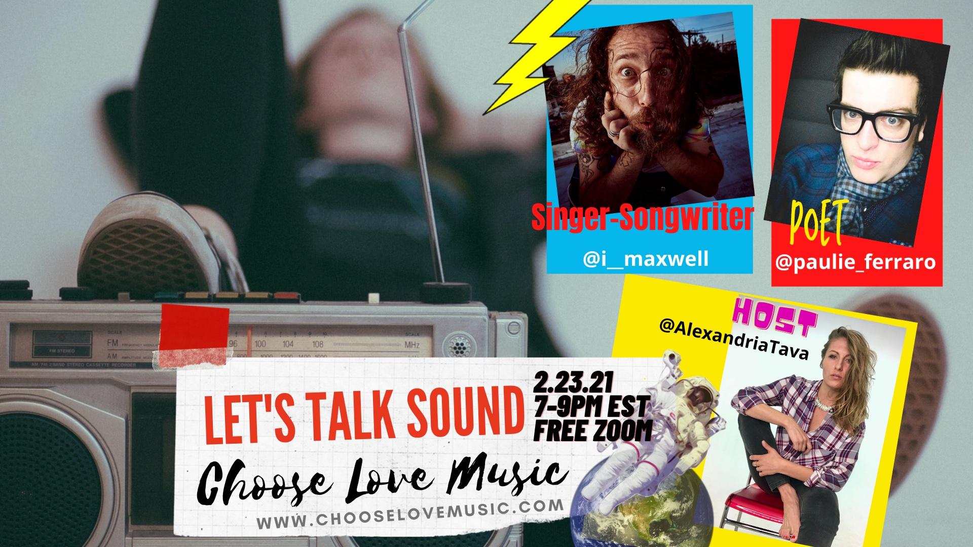 Let's Talk Sound_Feb Flyrer