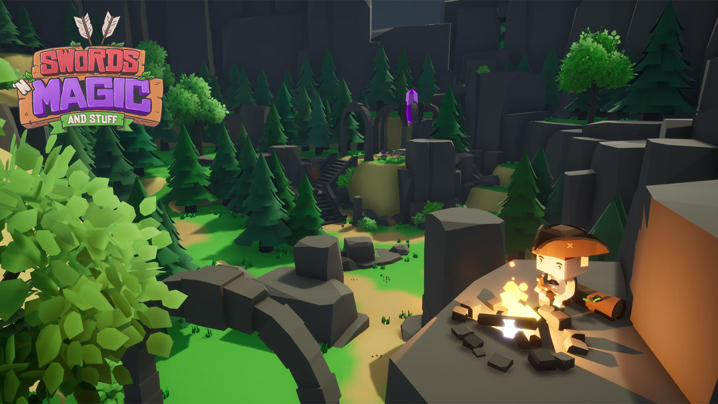 Cute, low-poly online RPG smashes its Kickstarter in 3 days