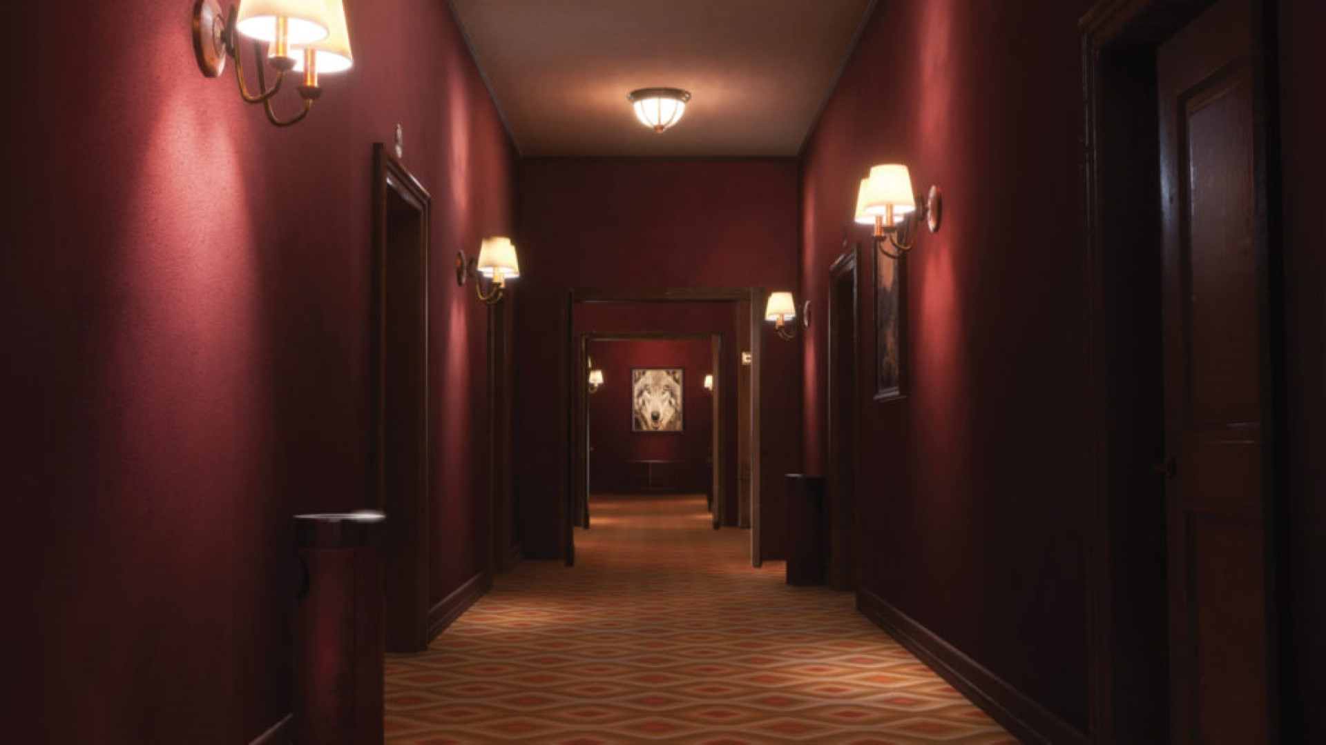 The hotel is as scary as it is luxurious.