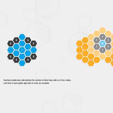 Hexcells Plus screenshot - Instructions
