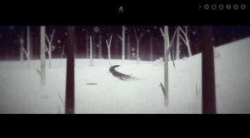 Year Walk screenshot - Forest at night. Taken from http://simogo.com/work/year-walk-pc/
